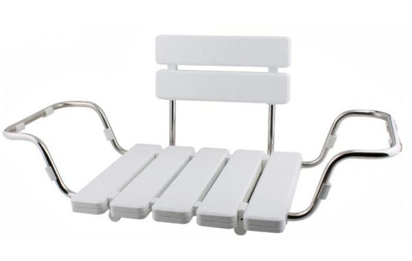 Back Supported Bathtub Seat