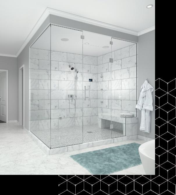 Is a home steam shower the same as a public sauna? - Steam Generators